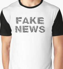 Fake News Graphic T-Shirt