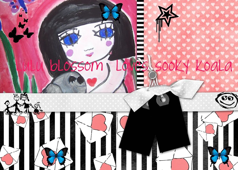 LuLu  Blossom Loves Sooky by butterflysoul
