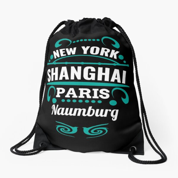 Naumburg - Our city is not a Weltmertopole but you should. Drawstring Bag