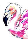 Flamingo too by Kendra Shedenhelm