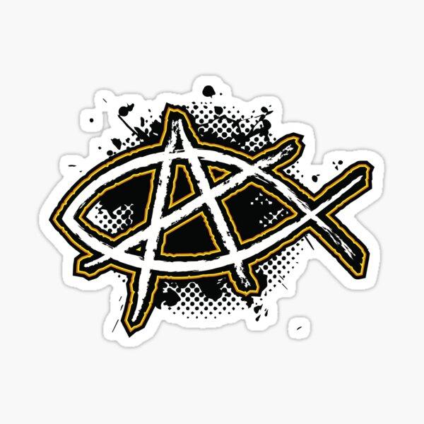 Christian Anarchy 2 Sticker