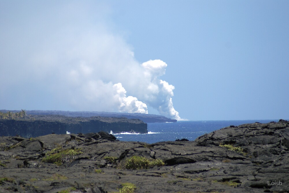 West Outfall -  Big Island by Loisb