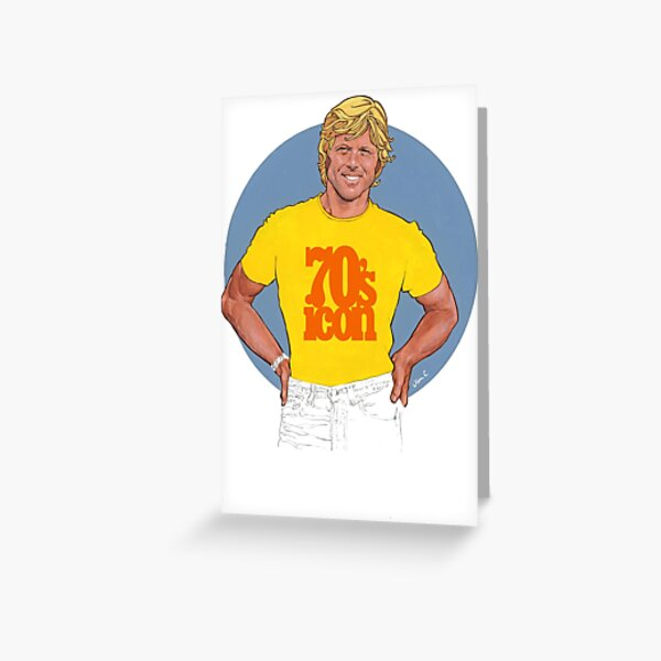 70's icon Greeting Card