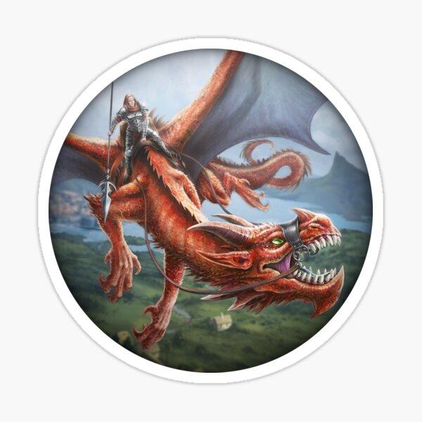 Drachenreiter Sticker
