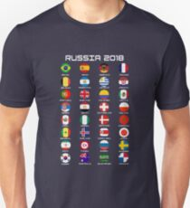 Russia World Football Cup 2018  Unisex T-Shirt