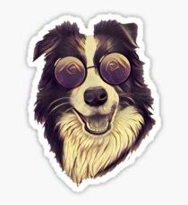 Cool Collie Sticker