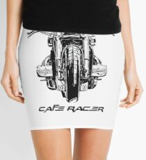 Cafe Racer Motorcycle Mini Skirt