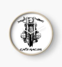 Cafe Racer Motorcycle Clock