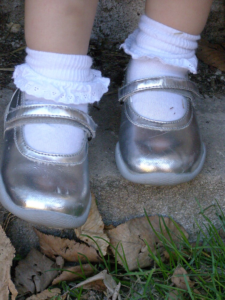 silver shoes by kellyann67