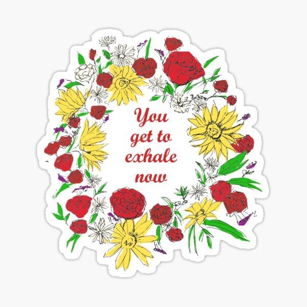 Love, Simon - Exhale Now Sticker