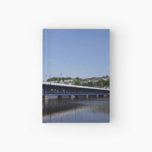Craigavon Bridge, Derry, Northern Ireland Hardcover Journal