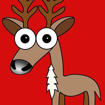 Reindeer by Inkerbelle