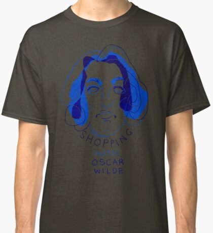 """shopping with Oscar Wilde"" Classic T-Shirt"