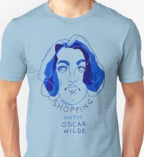 """shopping with Oscar Wilde"" Unisex T-Shirt"