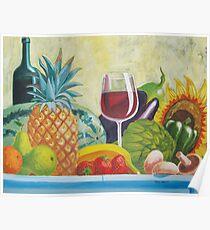 Fruits & Vegetables Poster