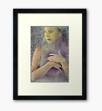 Thinly Veiled Framed Print
