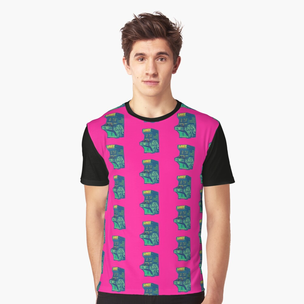 LAST Conference 2018. Hot pink. All Cities Graphic T-Shirt