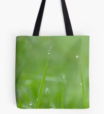 Misty Green Tote Bag