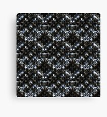 Abstract metallic armor Canvas Print