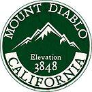 Mount Diablo California Hiking Climbing Contra Costa by MyHandmadeSigns