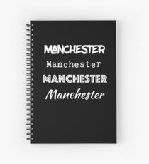 Manchester, NH I Love Manchester New Hampshire  Spiral Notebook