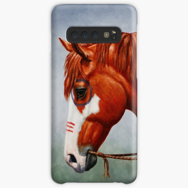Native American War Horse Samsung Galaxy Snap Case
