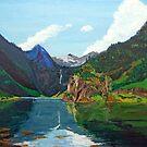 Fjaerlandsfjorden by John Nutley
