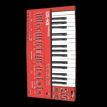 Vintage Analog Synthesizer by jaxfae