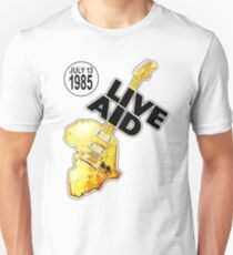 Live Aid 1985 Slim Fit T-Shirt