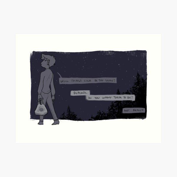 Take Out Art Print