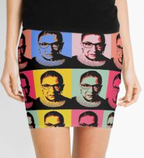 RBG - Pink Wave - Dissent is Patriotic Mini Skirt