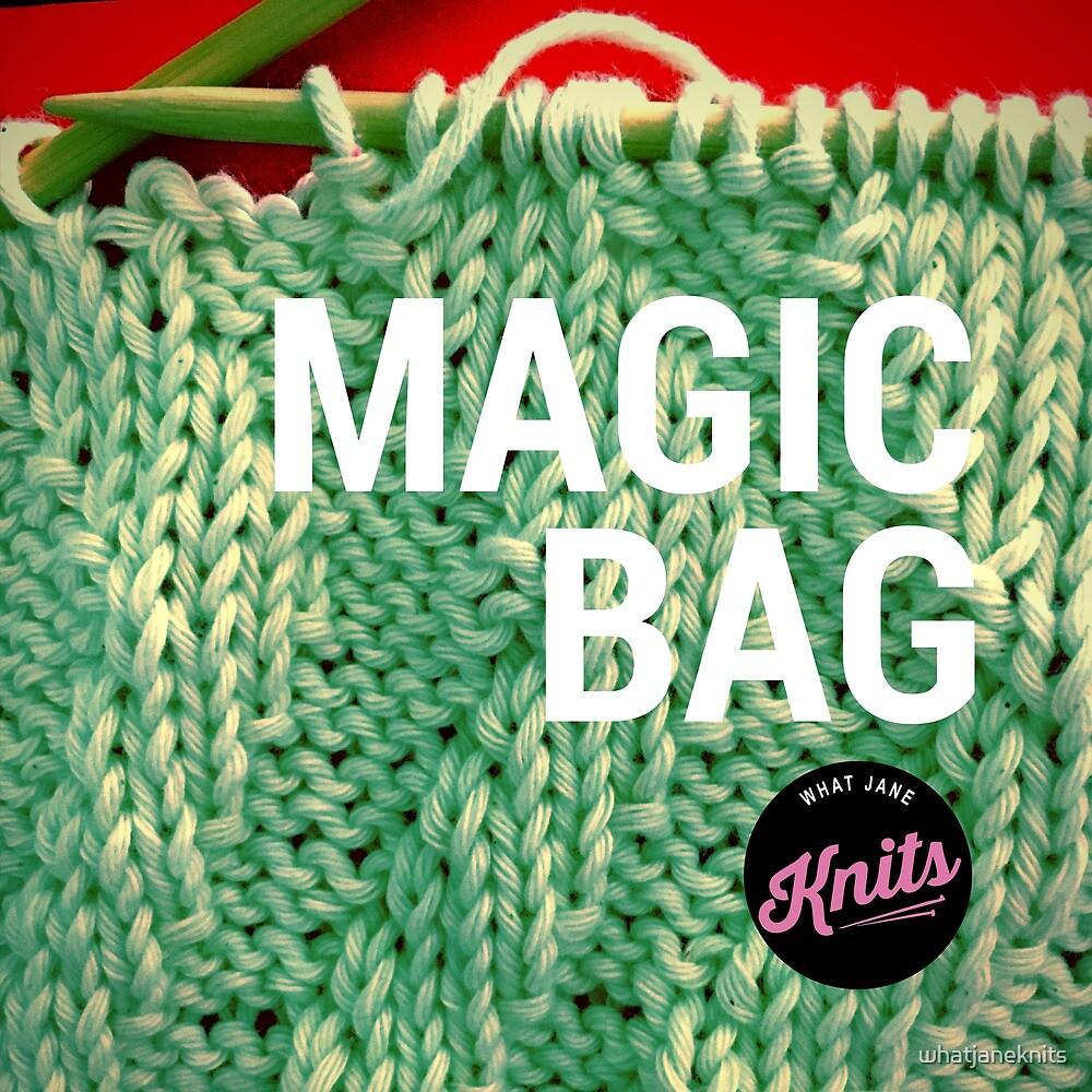 Magic Knitting Bag by whatjaneknits