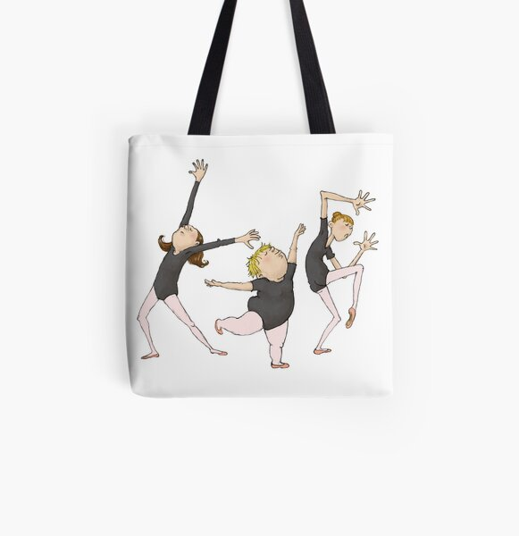Dancerinnas All Over Print Tote Bag