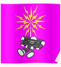 """8 Bit Buzz Bot v2.0.2 """"GearRoid"""" Poster"""