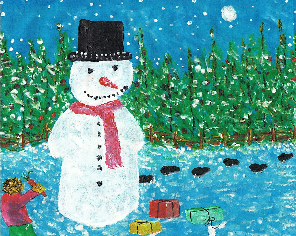 Snowman by George Coombs