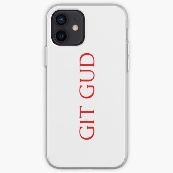 Git Gud (Red) iPhone Soft Case