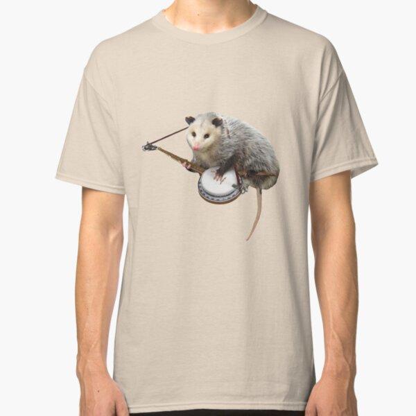 Possum Playing Banjo Classic T-Shirt