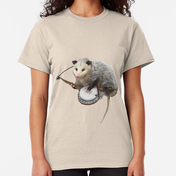 Possum Playing Banjo Classic T-Shirt