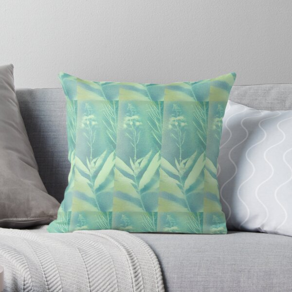 Alaskan Fireweed In Its Prime Throw Pillow