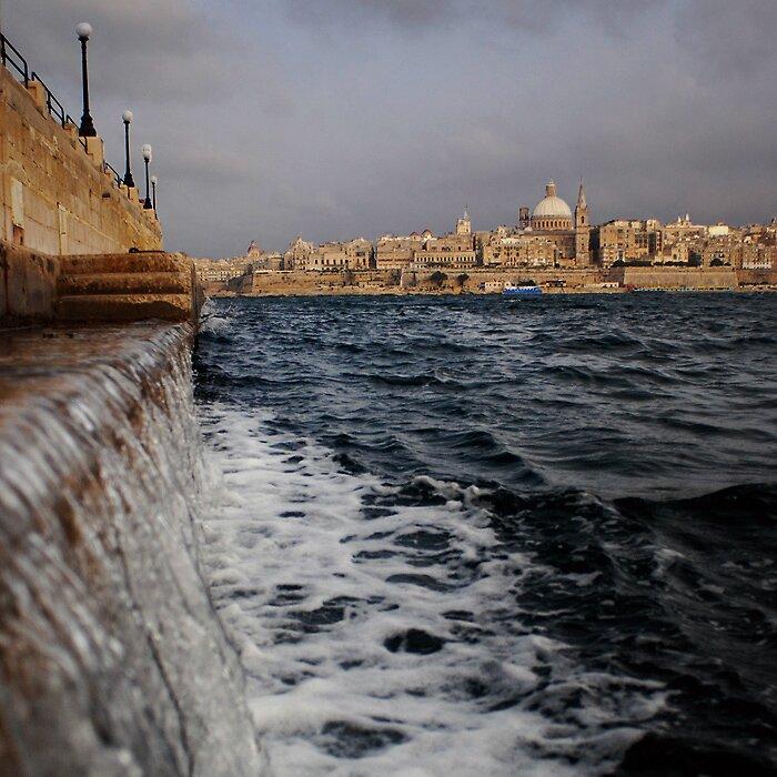 Valletta view by narabia