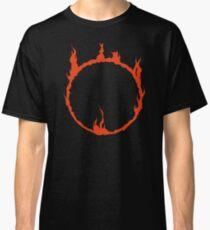 Dunkles Zeichen - rot Classic T-Shirt