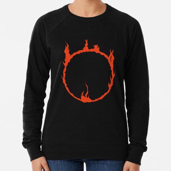 Dark Sign - Red  Lightweight Sweatshirt
