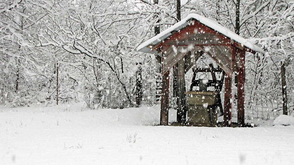 Well in Snow by Photosbyneal