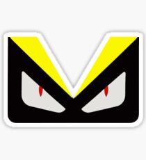 fendi monster eye Sticker