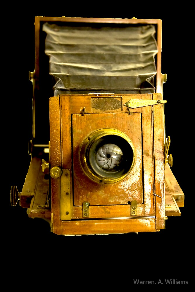 Old Camera  2 by Warren. A. Williams