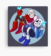 UNDERTALE | hey brother Canvas Print