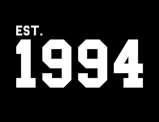 e0ba6ece3a27 Est. 1994 - White