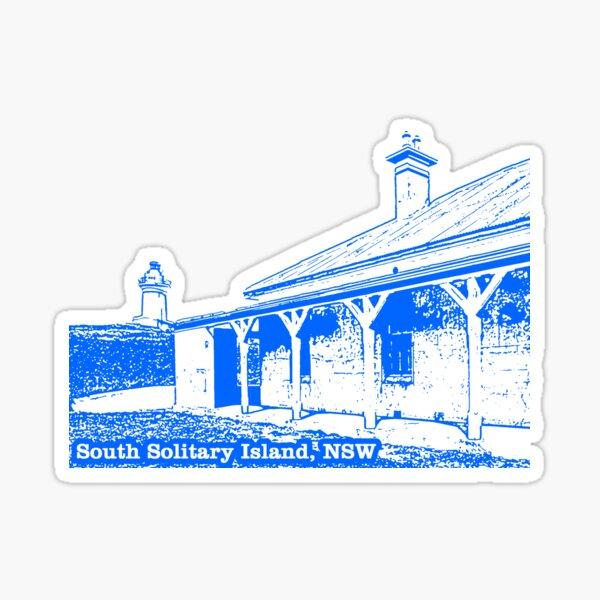 Lighthouse & Quarters - South Solitary Island Sticker