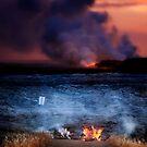 Kilauea Volcano Lava Flow. by Alex Preiss