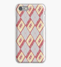 Mixtape Argyle iPhone Case/Skin